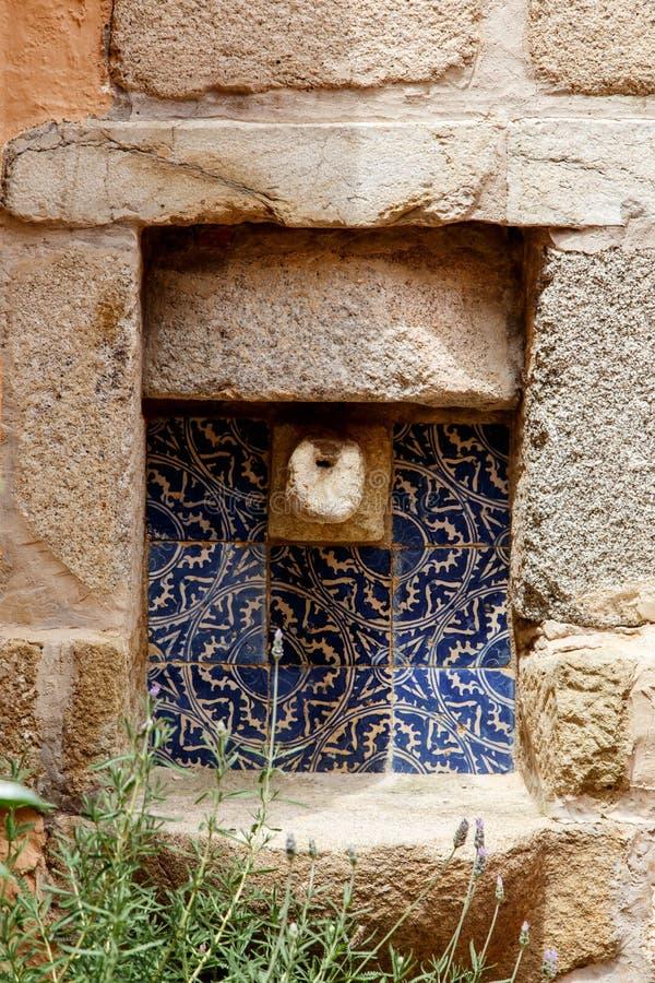 中世纪水源 图库摄影