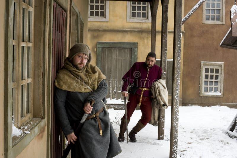 中世纪 图库摄影