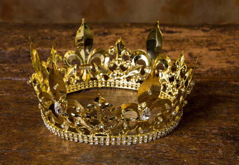 中世纪crown.Shield.ribbon图表eps10 库存图片