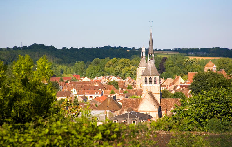 中世纪provins城镇 免版税库存照片