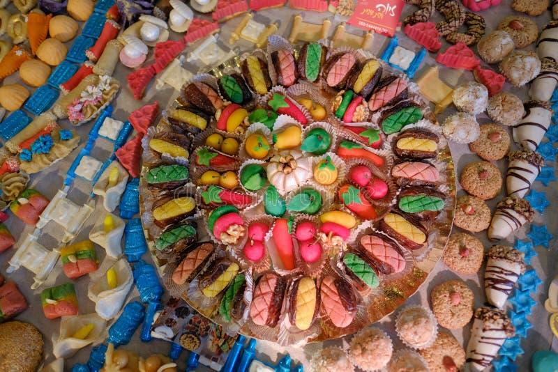 中东阿拉伯土耳其犹太甜点 库存照片