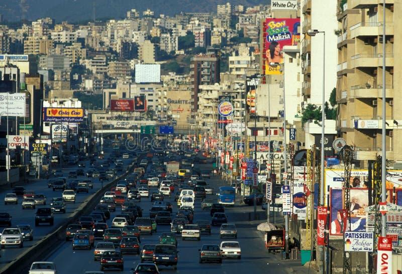 中东黎巴嫩贝鲁特 图库摄影