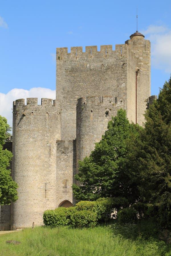 中古的堡垒 库存照片