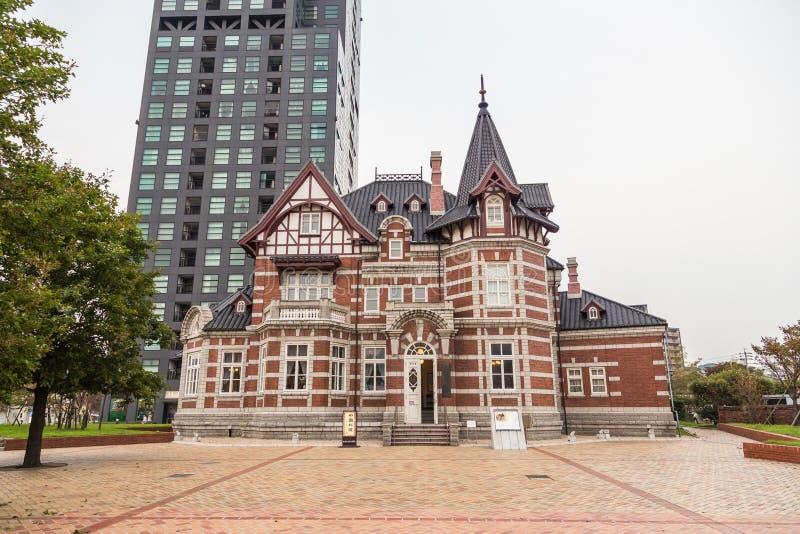 中国东部铁路局大厦在Mojiko,北九州, J 免版税库存照片