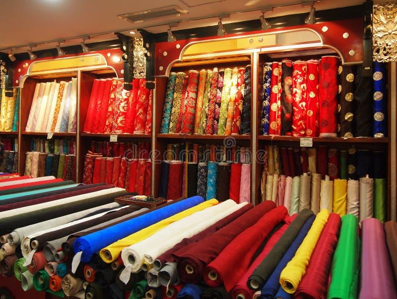 中国丝绸 免版税库存图片