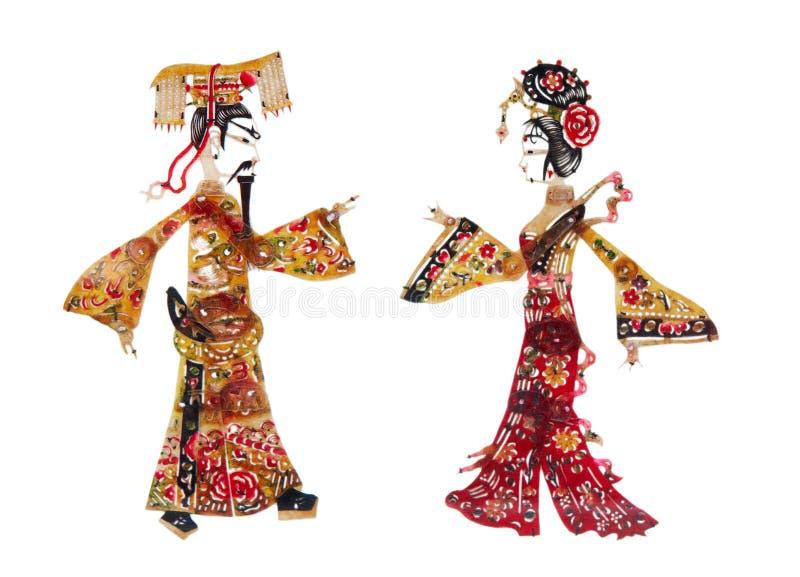 中国人剪切纸张 图库摄影