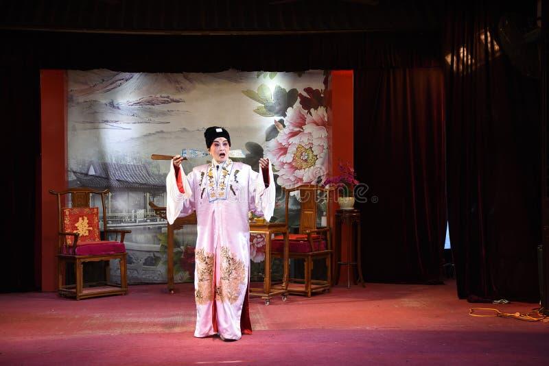 中国人执行中国歌剧 免版税库存图片