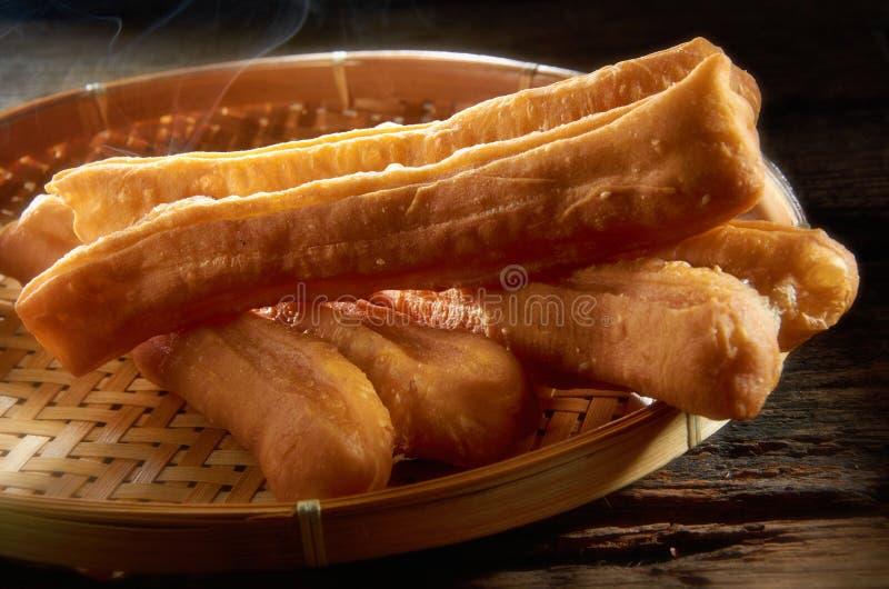 中国人炸面包棍子 库存照片
