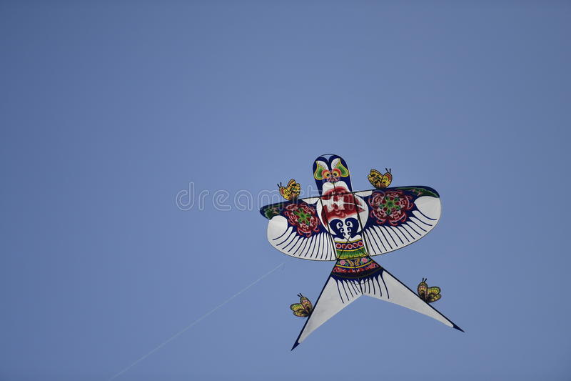 中国人燕子风筝 库存照片