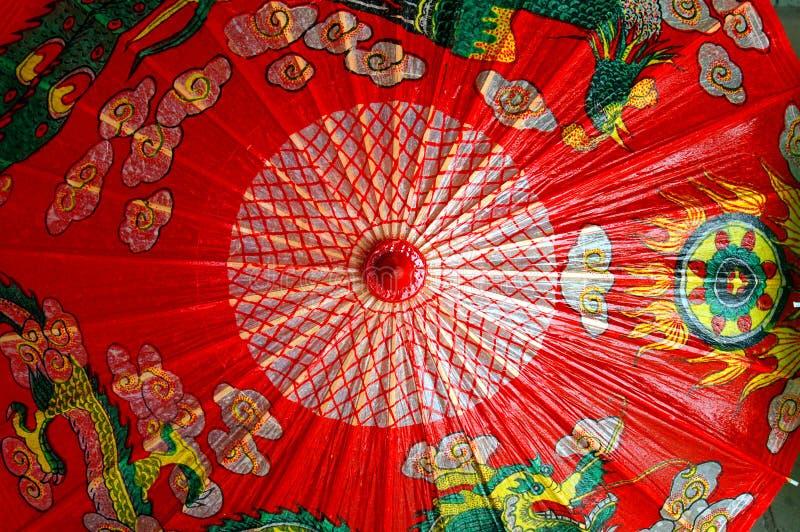 中国伞 免版税库存图片