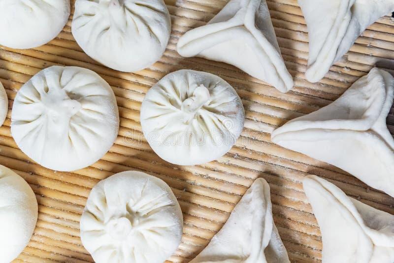 中国传统可口馒头 免版税库存照片