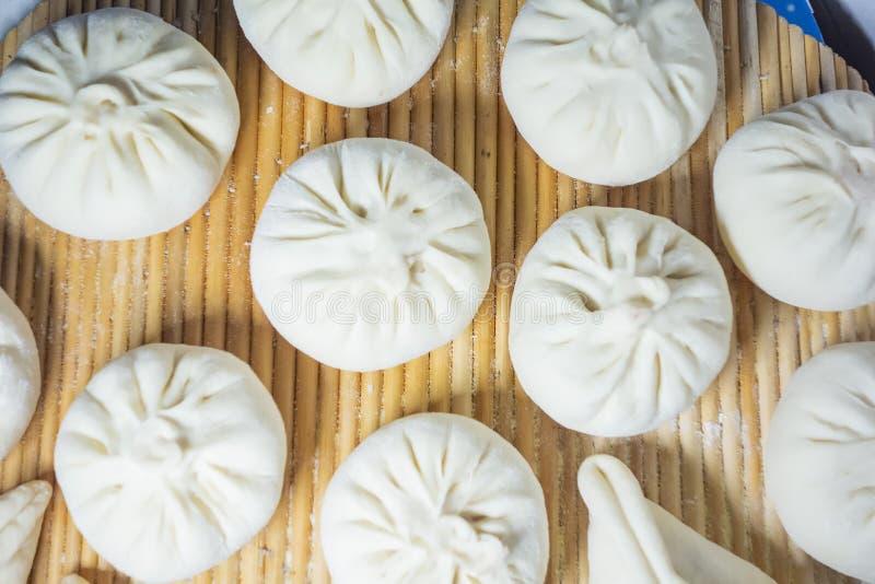 中国传统可口馒头 免版税库存图片
