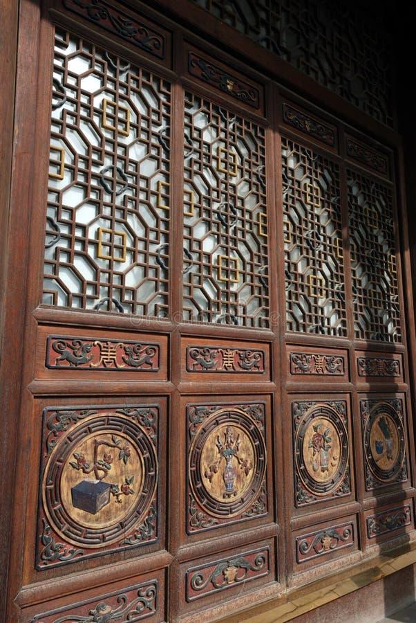 中国传统建筑艺术 库存图片