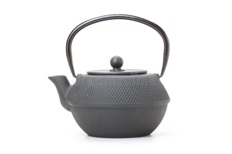 中国传统茶壶,被隔绝 免版税库存照片