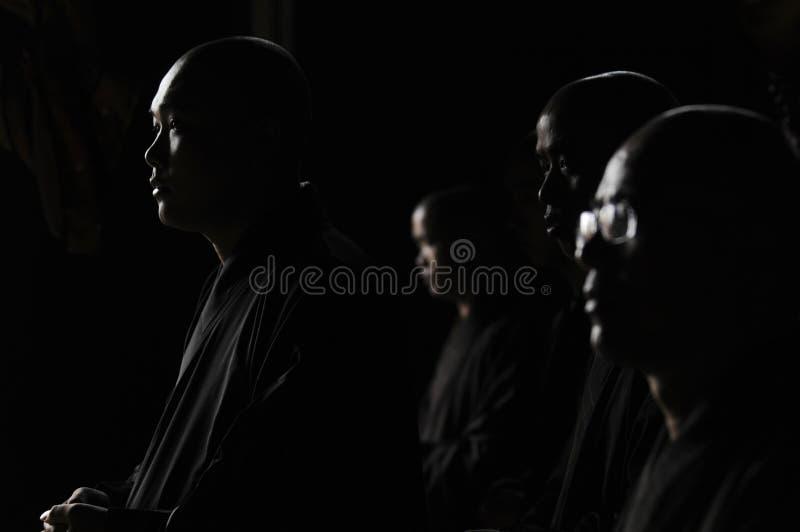 中国修士 图库摄影