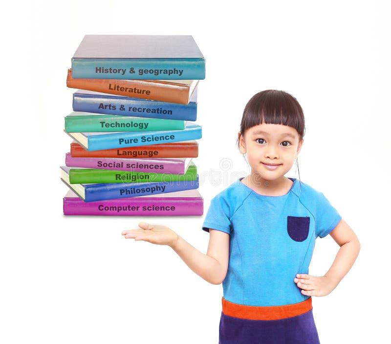 中国儿童和知识教育计划 免版税库存照片