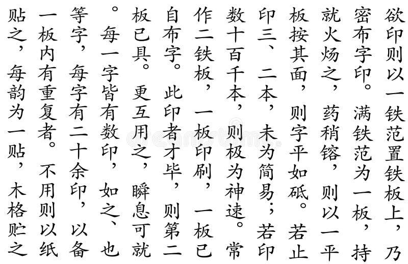中国剧本样式 库存照片