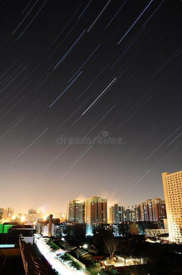 中国北京星形跟踪 库存图片