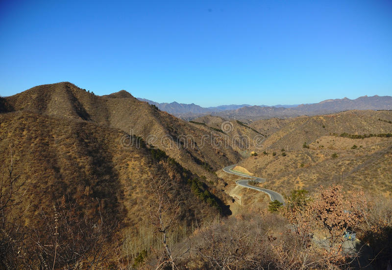 中国北部风景 免版税库存照片
