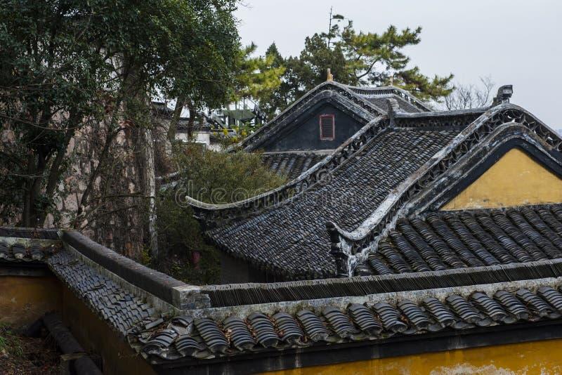 中国南通狼山自然风景区 库存图片