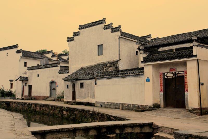 中国古老传统建筑学 图库摄影