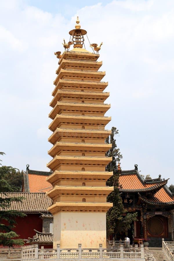 中国古老村庄, Guando古镇 免版税库存图片