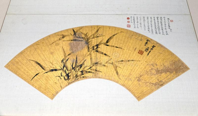 中国古老爱好者 库存图片