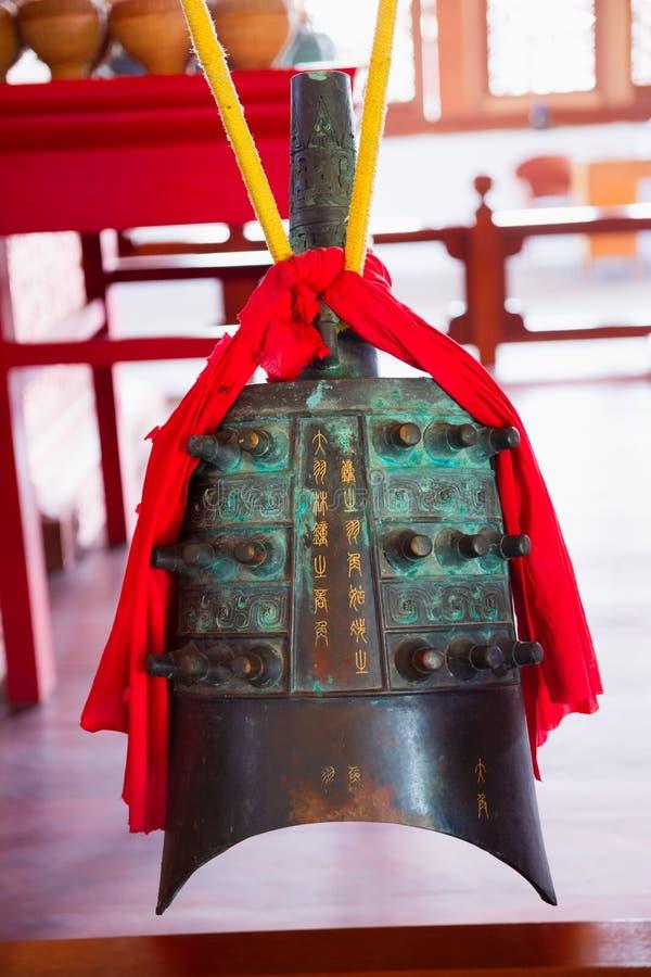 中国古老编钟 免版税库存照片