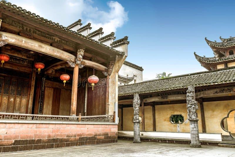 中国古老阶段 免版税库存照片