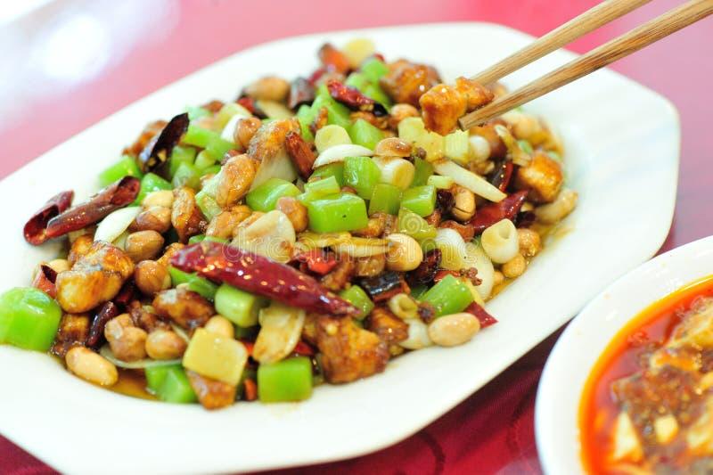 中国可口食物 库存照片
