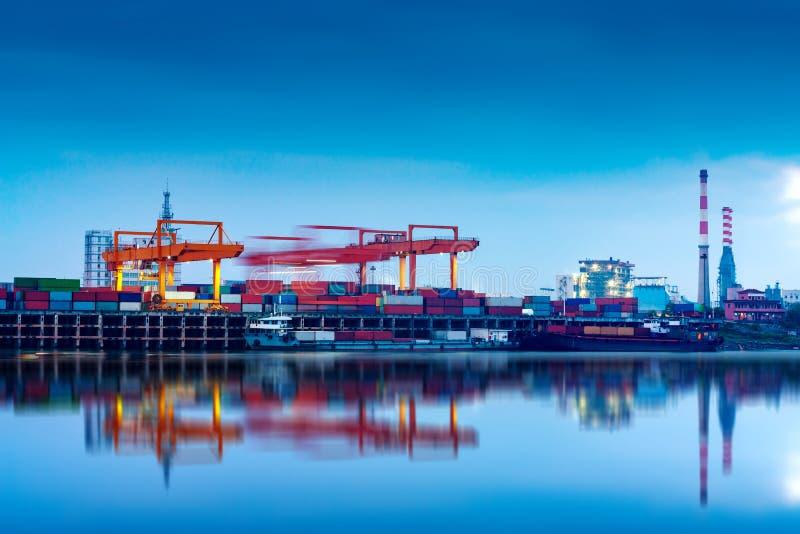 中国和长江货船 免版税库存图片