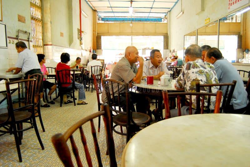 中国咖啡店 库存图片