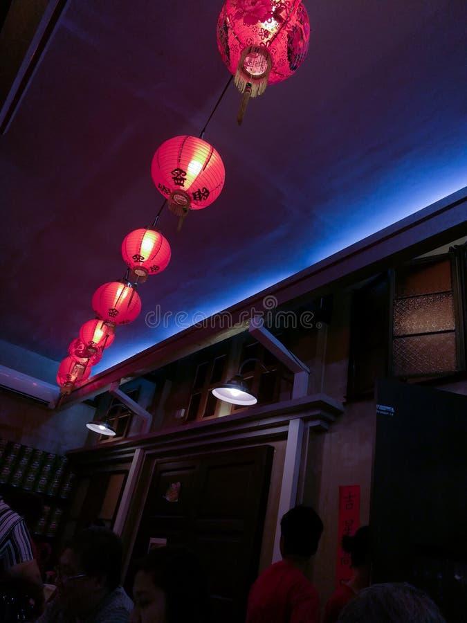 中国商店震动 图库摄影