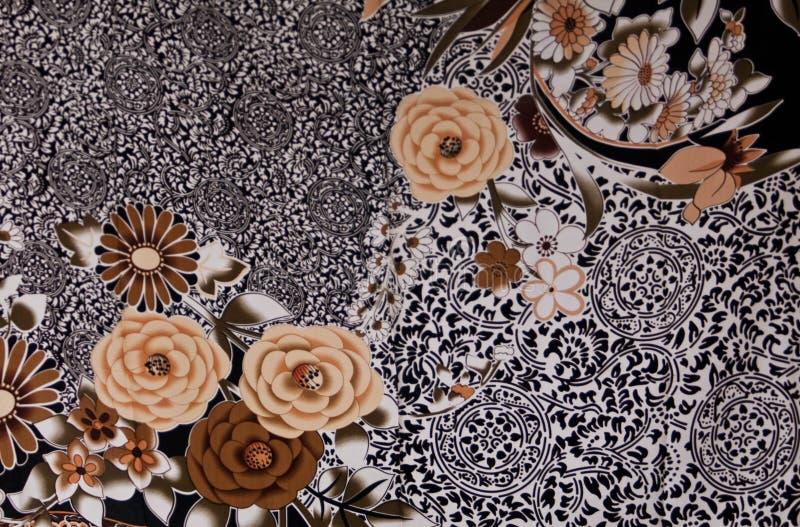 中国围巾丝绸 免版税图库摄影