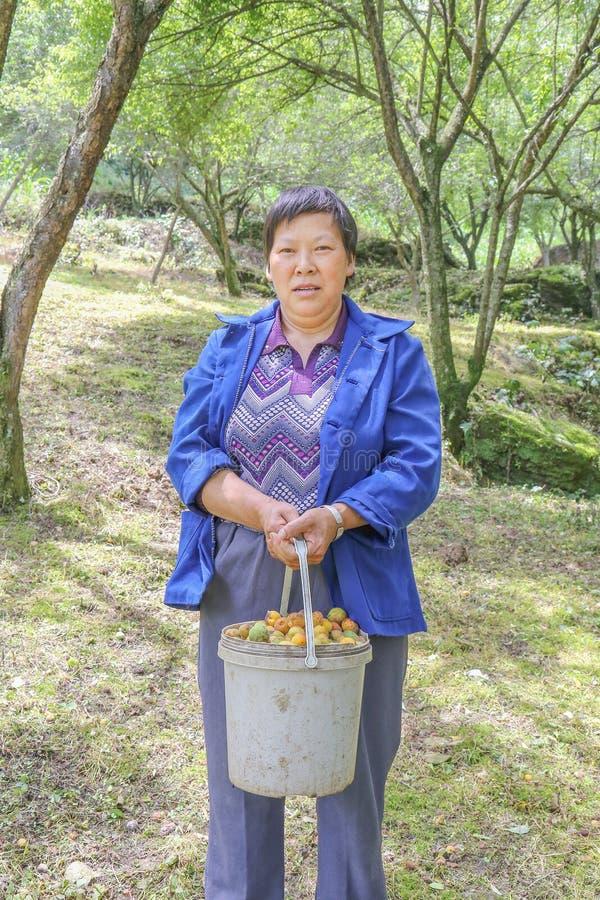 中国国家妇女 库存图片