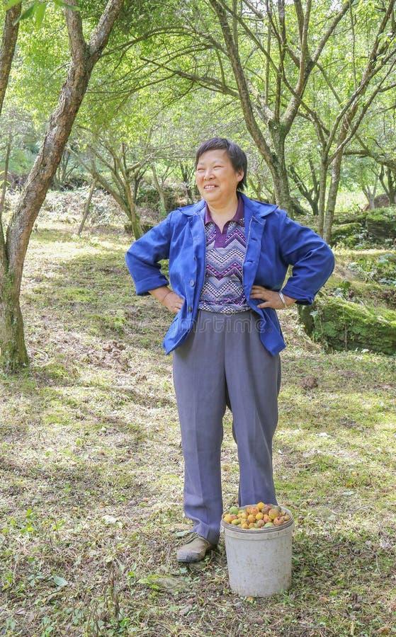中国国家妇女 免版税库存图片