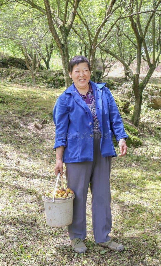 中国国家妇女 库存照片