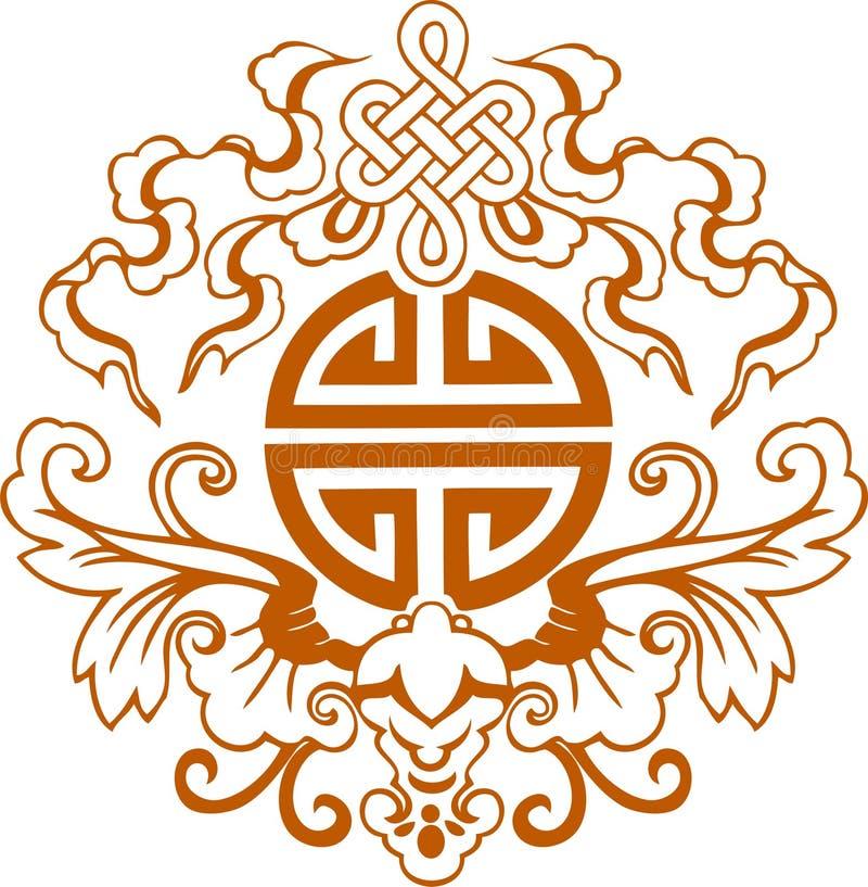 中国传统标志图形_中国图形符号 向量例证. 插画 包括有 装饰, 设计, 繁荣, 例证 ...