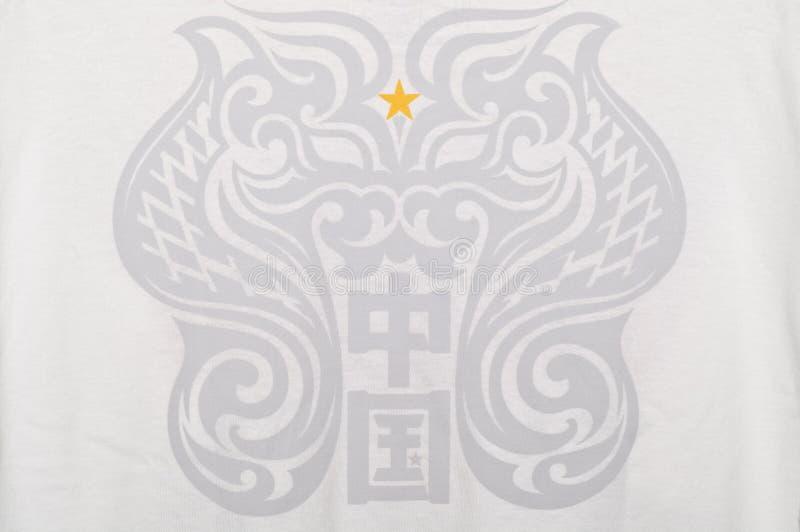 中国图腾 免版税库存照片
