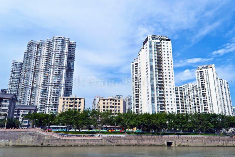 中国城市 免版税库存照片