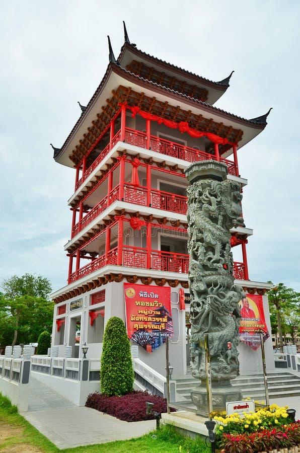 中国塔 免版税库存照片