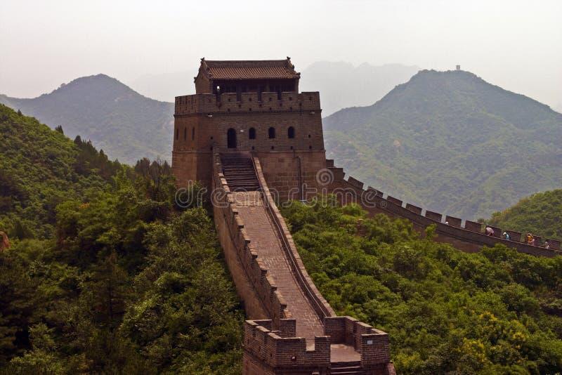 中国墙 免版税库存照片