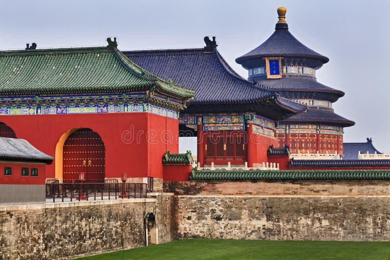 中国天坛 免版税库存图片