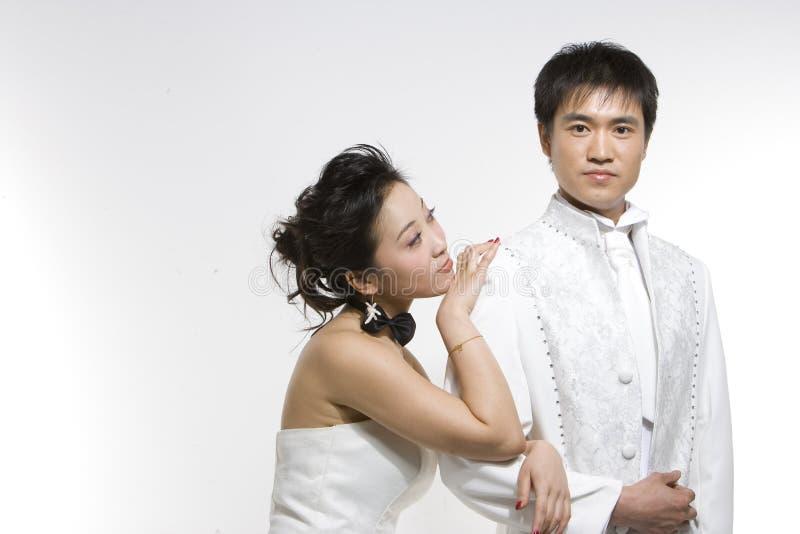 中国夫妇 库存图片