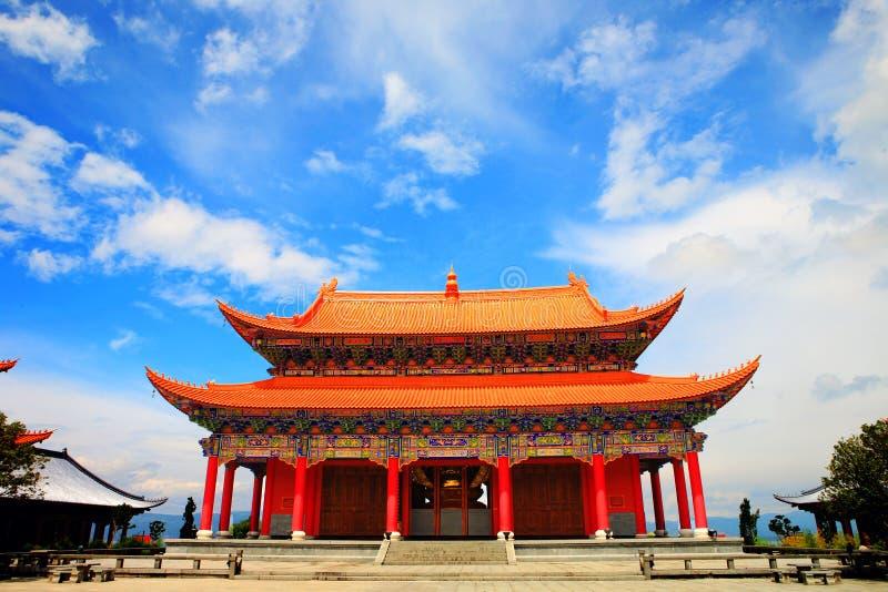 中国宫殿 免版税图库摄影