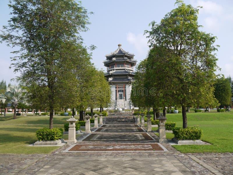 中国寺庙在泰国 免版税图库摄影