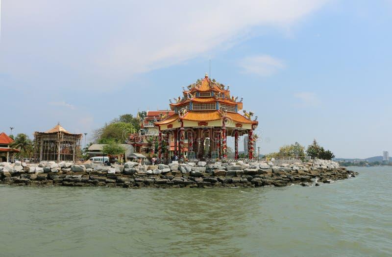 中国寺庙在泰国 库存照片
