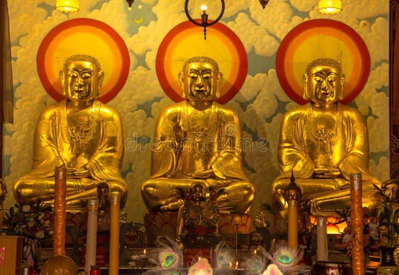 中国寺庙的汉语菩萨 免版税图库摄影