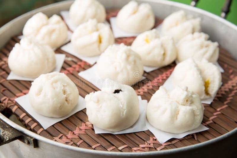 中国小圆面包 免版税库存图片