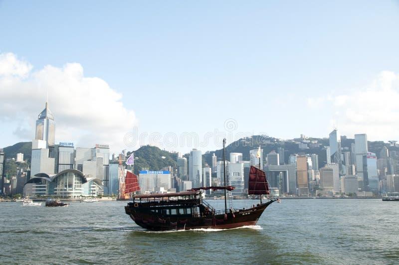 中国帆船 库存图片